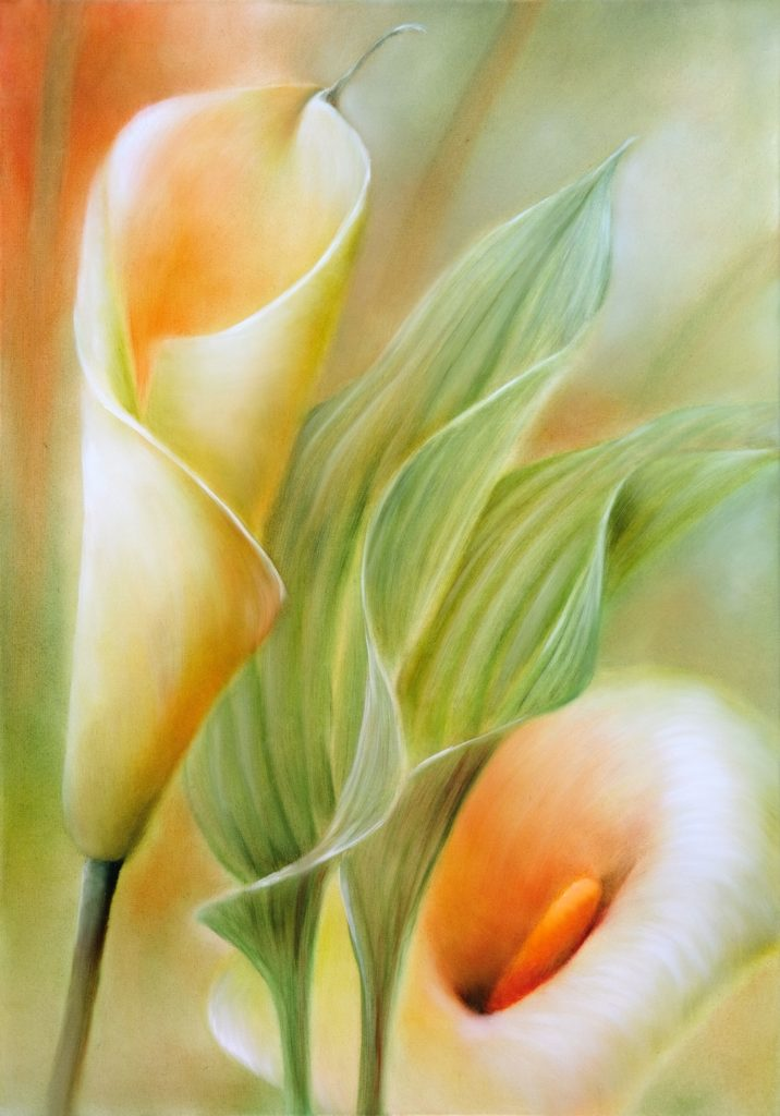 painting of callas